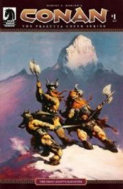 Conan The Frazetta Covers Comics